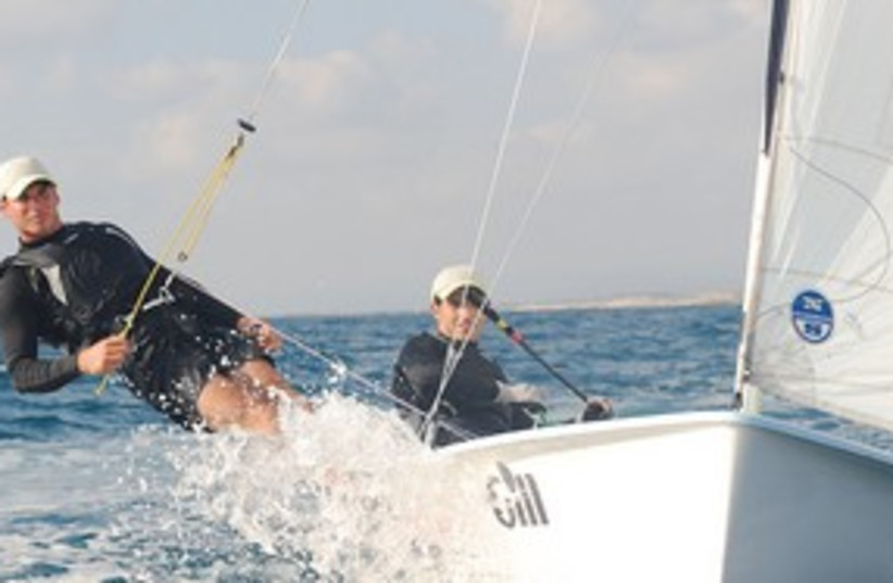 Sailing 311 (photo credit: Sharon Ben Tov)