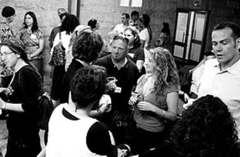 tweetup b&w 311 (photo credit: (Yonit Schiller/Jerusalemblueprint.com))