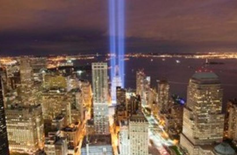 911 tribute 311 (photo credit: Associated Press)