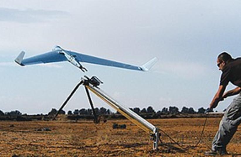 THE ORBITER UAV (photo credit: Courtesy)
