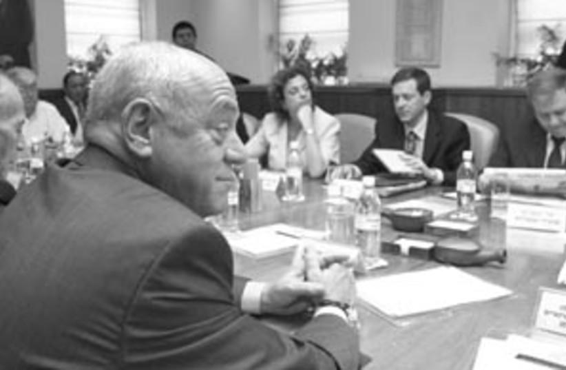 cabinet meeting 88 298 (photo credit: Ariel Jerozolimski)