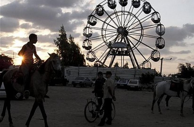 Muslims celebrate Eid al-Fitr.