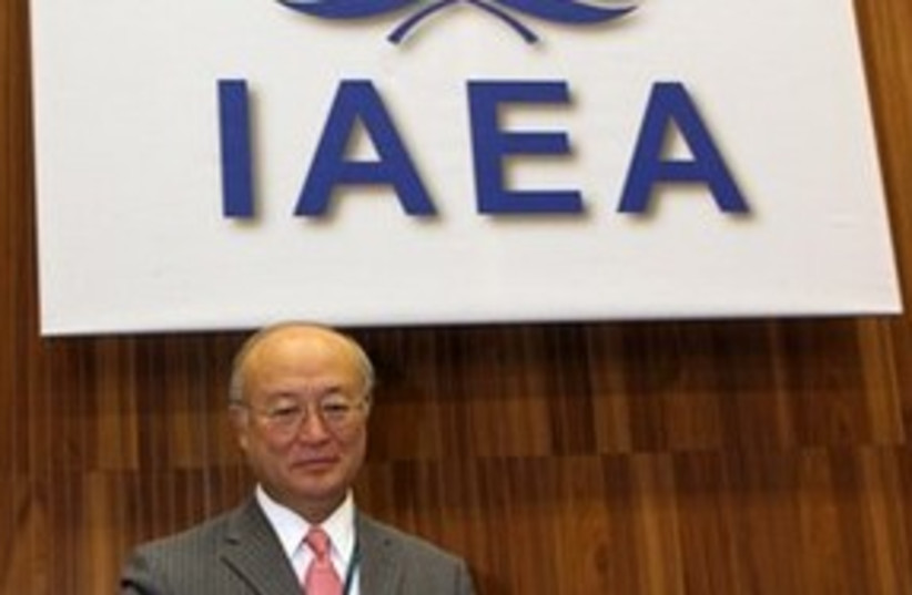 Amano IAEA 311 (photo credit: Associated Press)