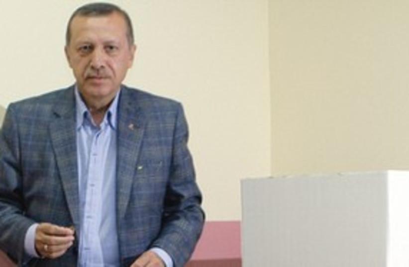 311_erdogan voting (photo credit: Associated Press)