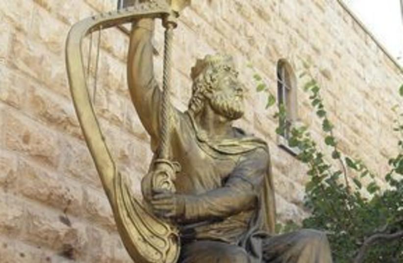 311_King David statue (photo credit: Courtesy)