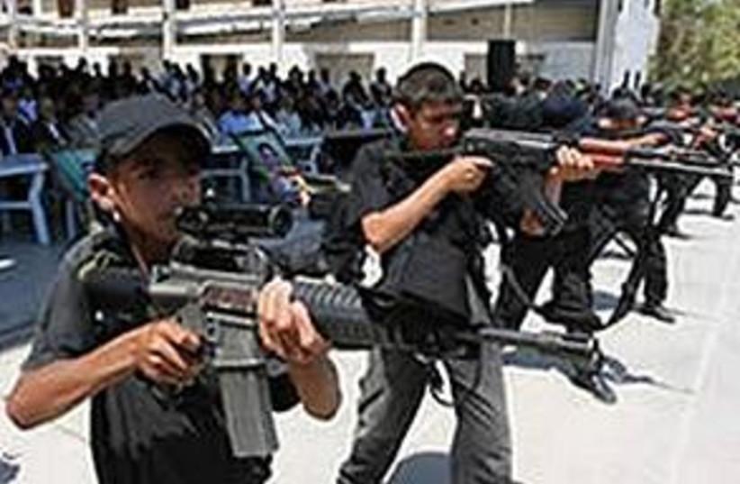 Hamas summer camps (photo credit: MALAM)