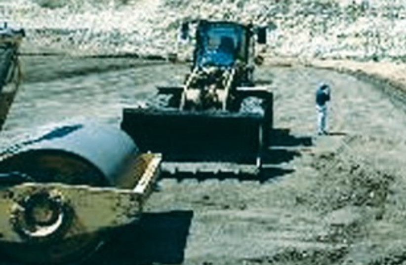 diggers at quarry 311 (photo credit: Courtesy)