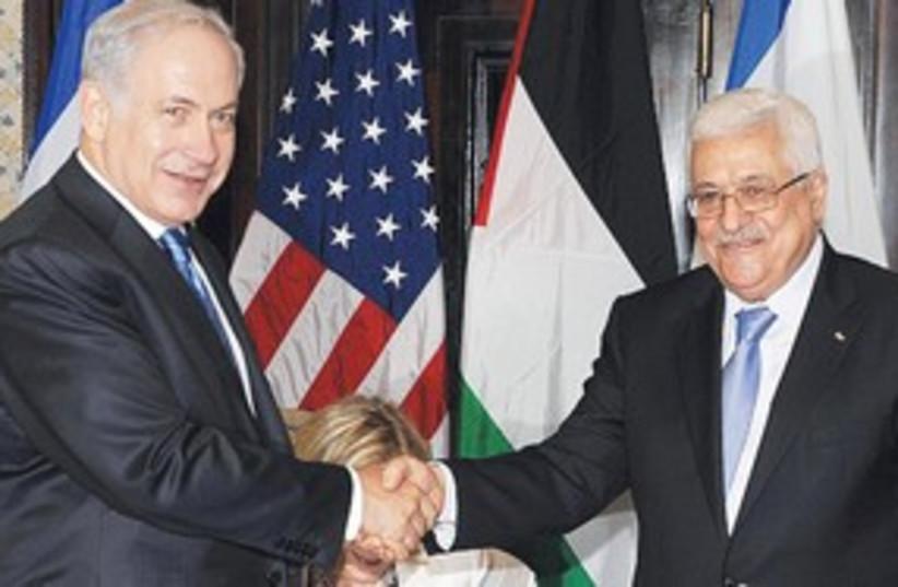 311_Sharm talks, Netanyahu and Abbas (photo credit: Moshe Milner / GPO)