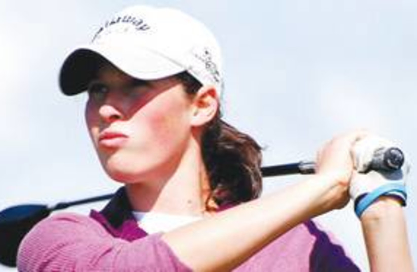 LAETITIA BECK golf player 311 (photo credit: Courtesy)