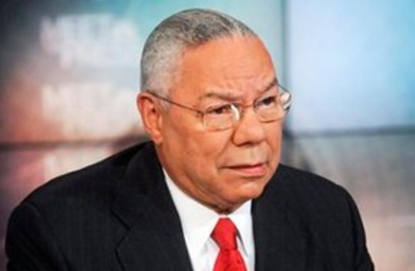 Colin Powell 311 (photo credit: Associated Press)