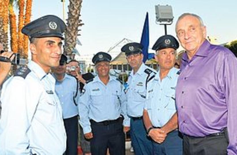 Tel Aviv Police 311 (photo credit: Meir Vanunu\Israel Police)