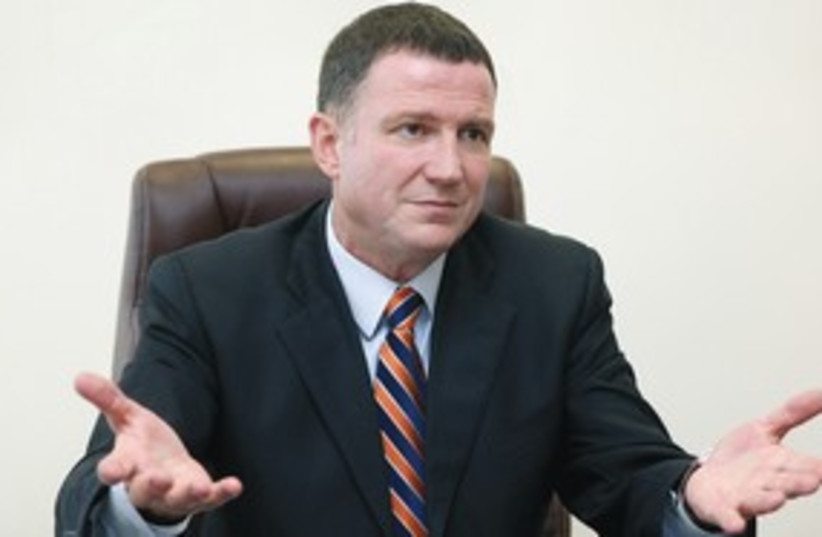 Yuli Edelstein 311 (photo credit: Marc Israel Sellem / The Jerusalem Post)