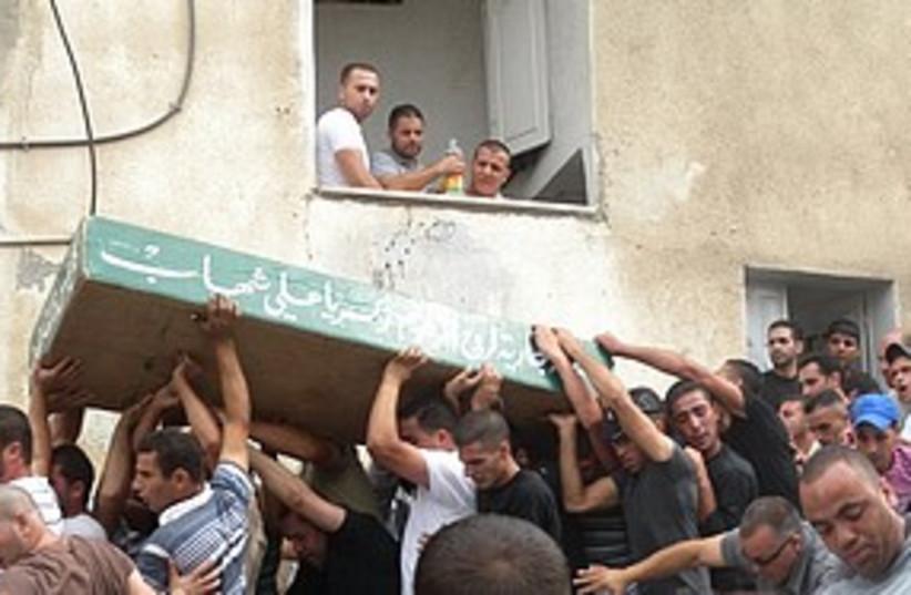 Riots in Silwan (photo credit: Melanie Lidman)