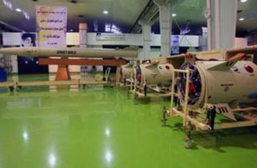 Iran Fateh-110 missile 311 (photo credit: Associated Press)