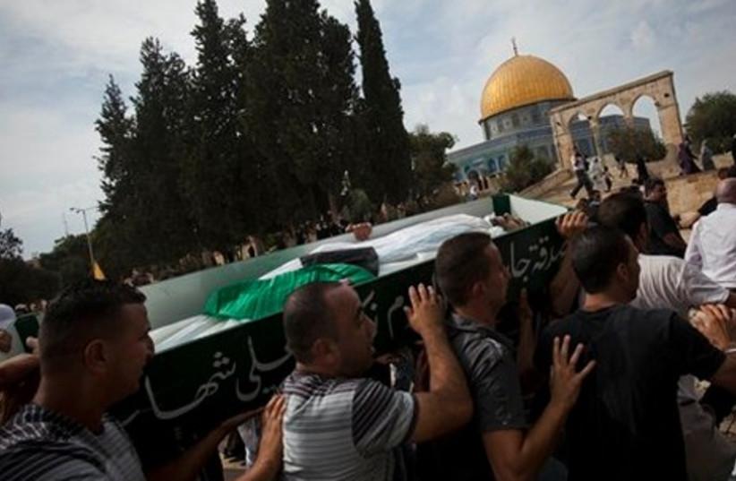 Jerusalem riots.