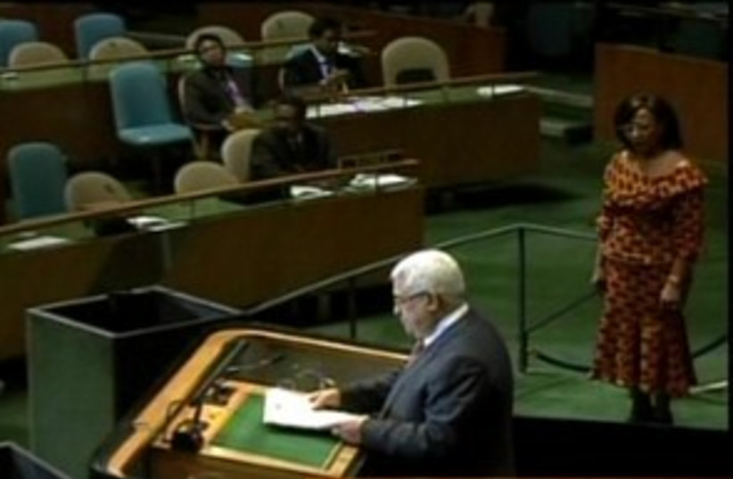 Abbas UN 311 (photo credit: Channel 10 [file photo])