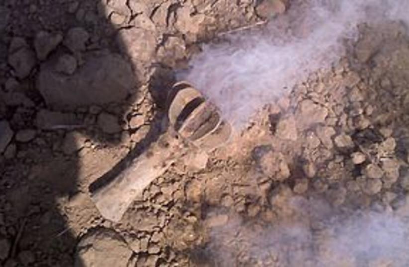 gaza rocket 311 (photo credit: Eshkol Regional Council)