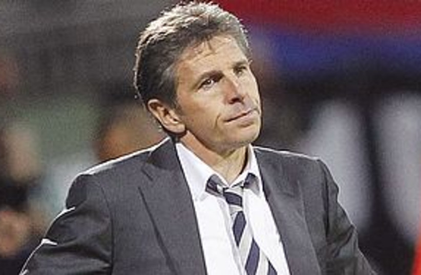 claude puel 311 (photo credit: AP)