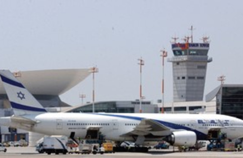 EL AL Plane 311 (photo credit: Ariel Jerozolimski)