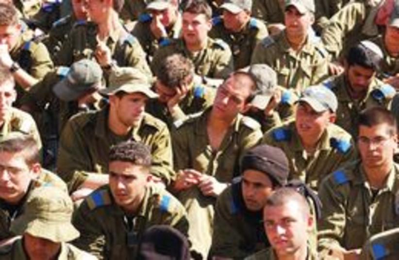311_IDF draftees (photo credit: Ariel Jerozolimski)