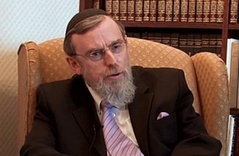 Rabbi Nathan Lopes Cardozo 311 (photo credit: Leadel.NET)