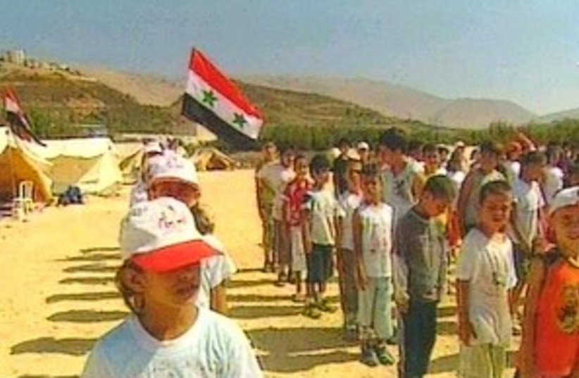 Syrian camp 298.88 (photo credit: Channel 2)