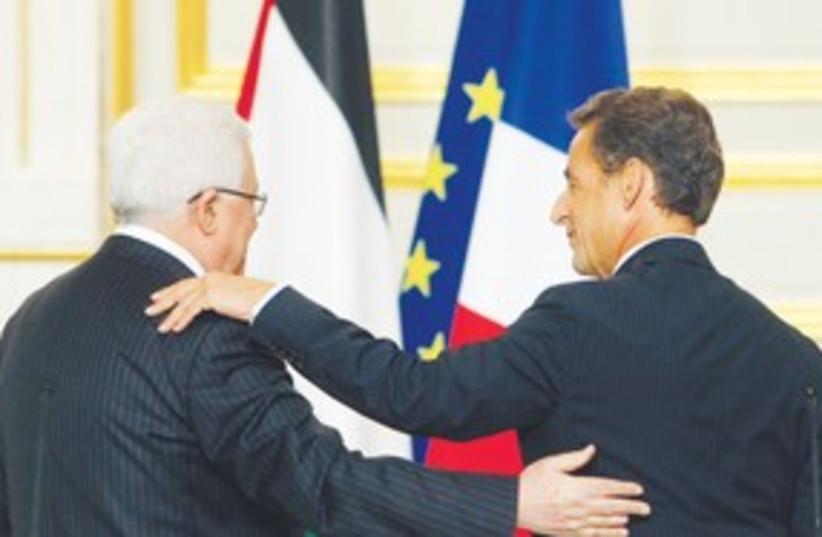 Abbas and Sarcozy backs 311 (photo credit: Associated Press)