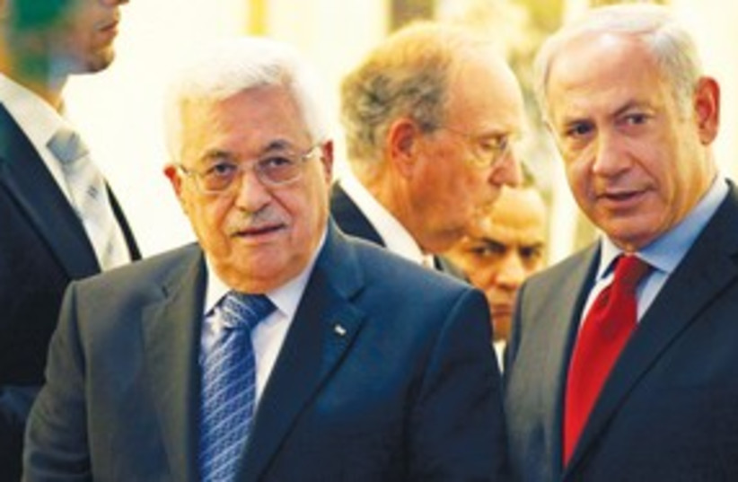 Netanyahu Abbas 311 AP (photo credit: Associated Press)