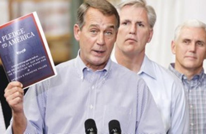 Boehner 311 (photo credit: Associated Press)