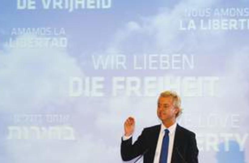 Geert Wilders AP 311 (photo credit: Associated Press)