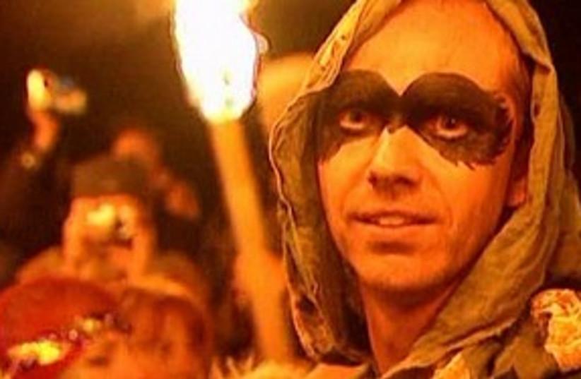Druids 311 (photo credit: Reuters video)
