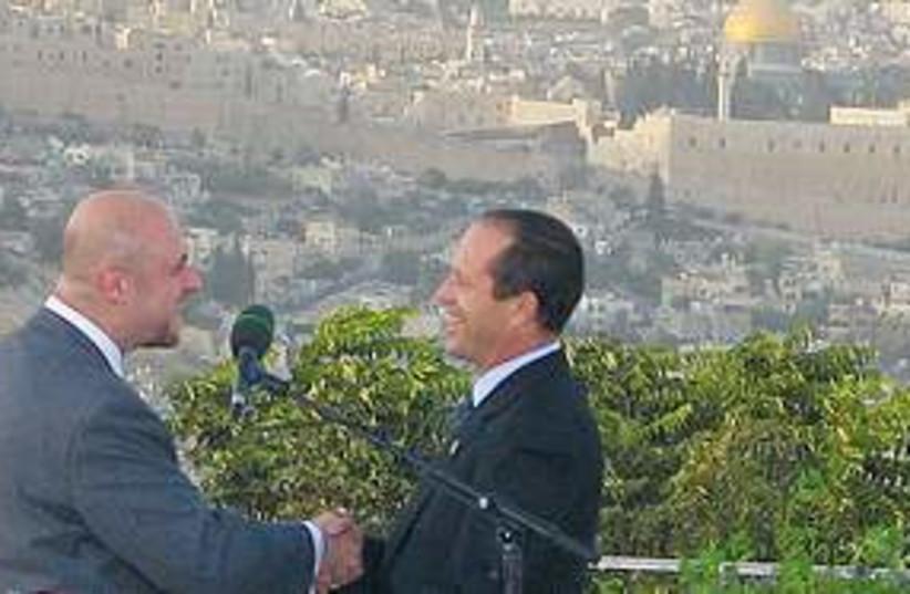 Jerusalem prayer event (photo credit: Ron Friedman)