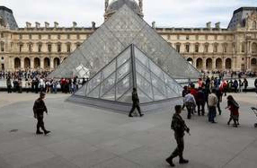 Louvre museum Paris 311 (photo credit: AP Photo/Laurent Cipriani)