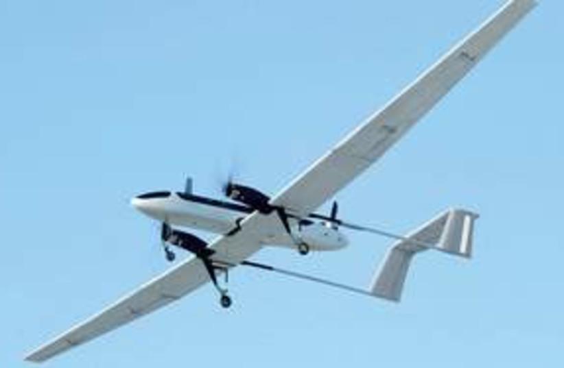 311_Panther UAV (photo credit: Ariel Jerozolimski)
