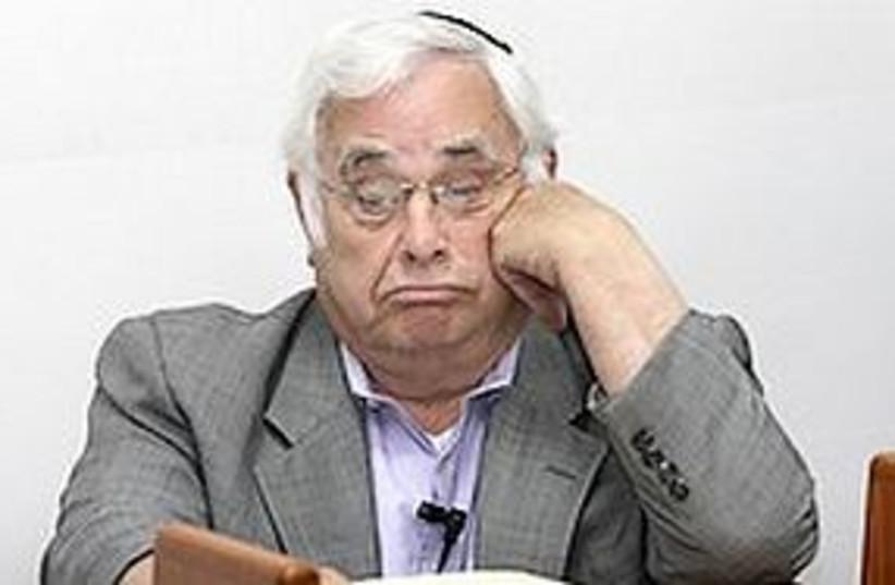 Talansky pouting 311 (photo credit: Israel Jerozolimski)