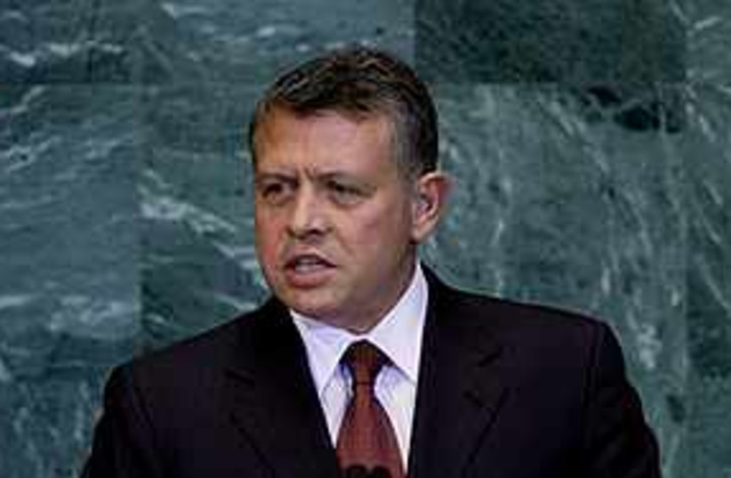 King Abdullah (photo credit: ASSOCIATED PRESS)