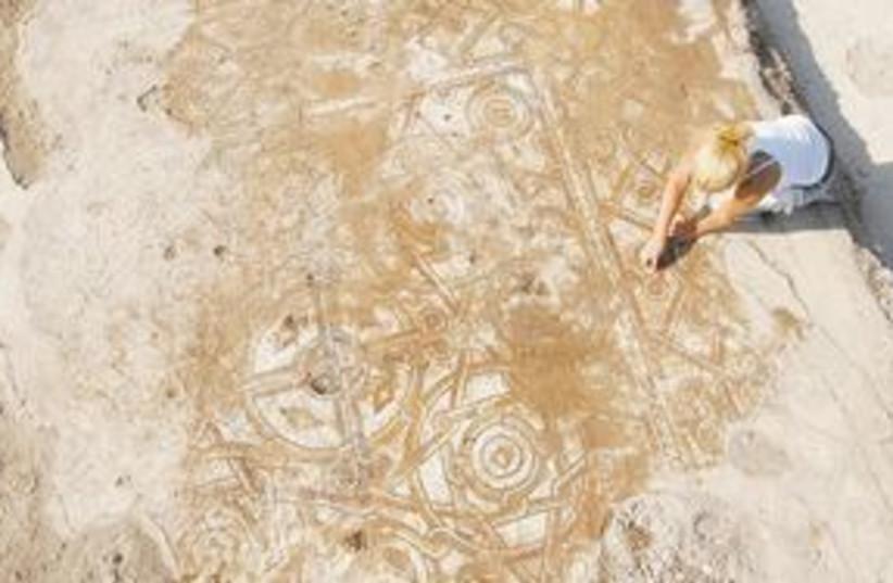 Shikmona discovery mosaic 311 (photo credit: Courtesy)