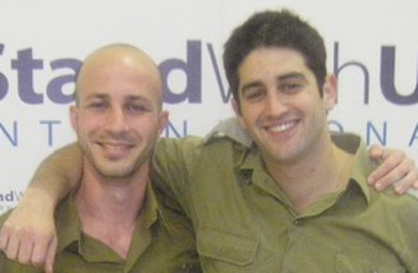 Soldiers Inon Tagner and Lior Prosor 311 (photo credit: Courtesy)