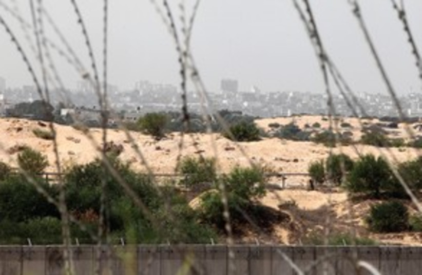 Gaza Border 311 (photo credit: Marc Israel Sellem)