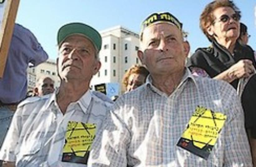 survivors march 248.88 (photo credit: Ariel Jerozolimski [file])