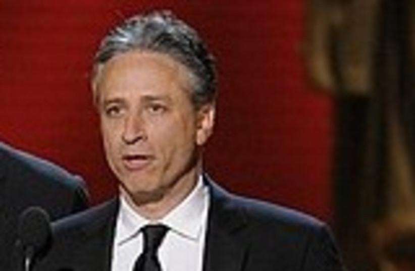 Jon Stewart 311 AP (photo credit: AP)