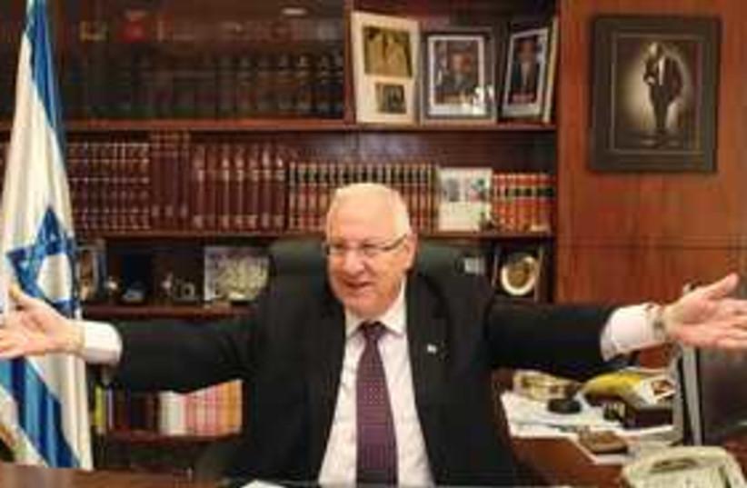 Knesset Speaker Reuven Rivlin 311 (photo credit: Marc Israel Sellem/The Jerusalem Post)