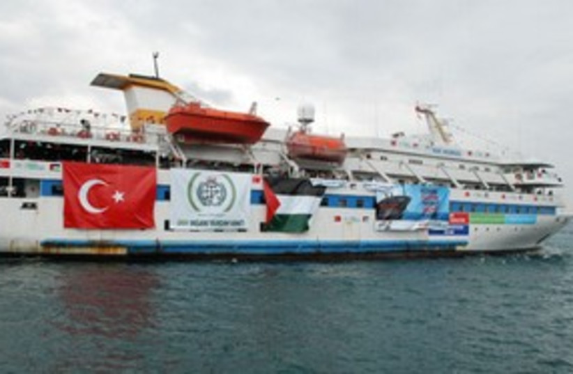 mavi marmara 311 AP (photo credit: AP)