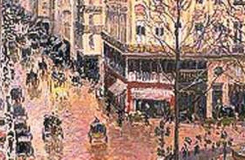Rue St.-Honoré, Après-Midi, Effet de Pluie painting 311 (photo credit: Courtesy)