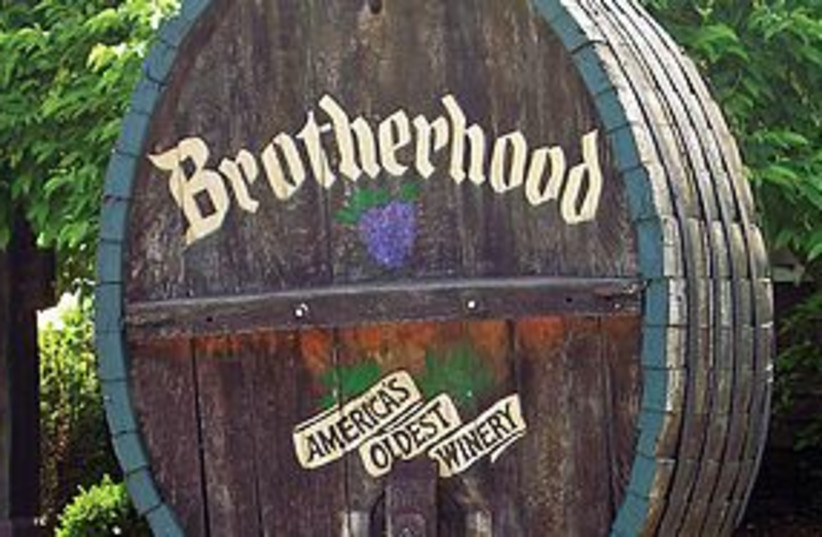 brotherhood winery 311 (photo credit: Courtesy)