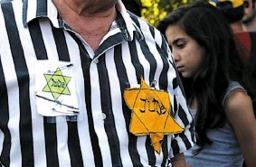 holocaust survivor 298AJ (photo credit: Ariel Jerozolimski)
