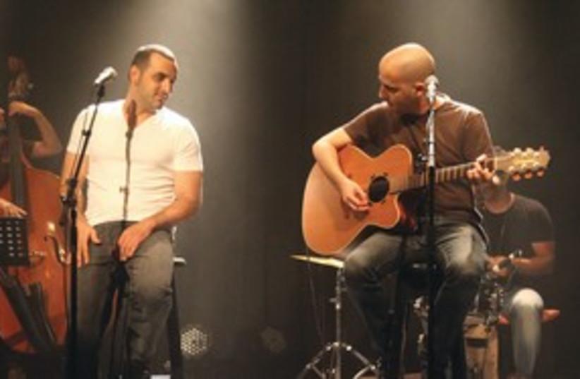 ELAI BOTNER on guitar with Koby Aflalo 311 (photo credit: Courtesy)