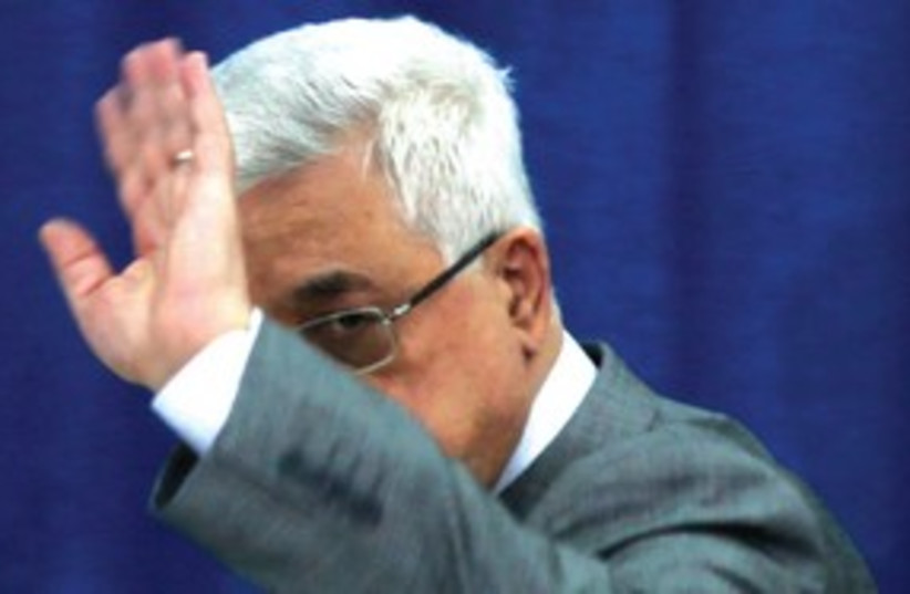 Mahmoud Abbas 311 (photo credit: MUHAMMED MUHEISEN ( AP))
