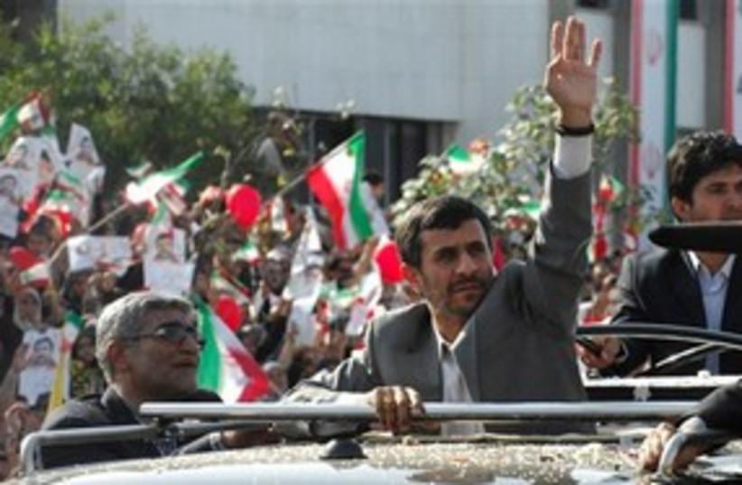 Ahmadinejad Lebanon parade 311 ap (photo credit: Associated Press)