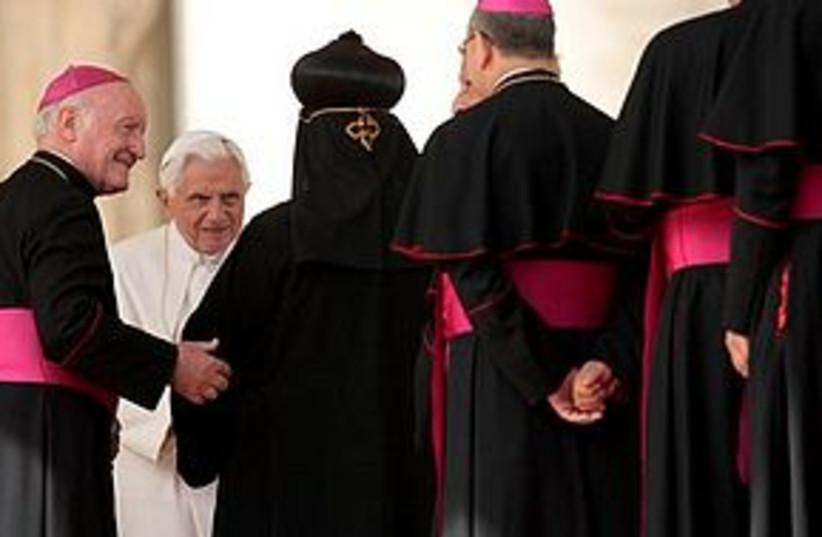 pope at vatican (photo credit: Associated Press)